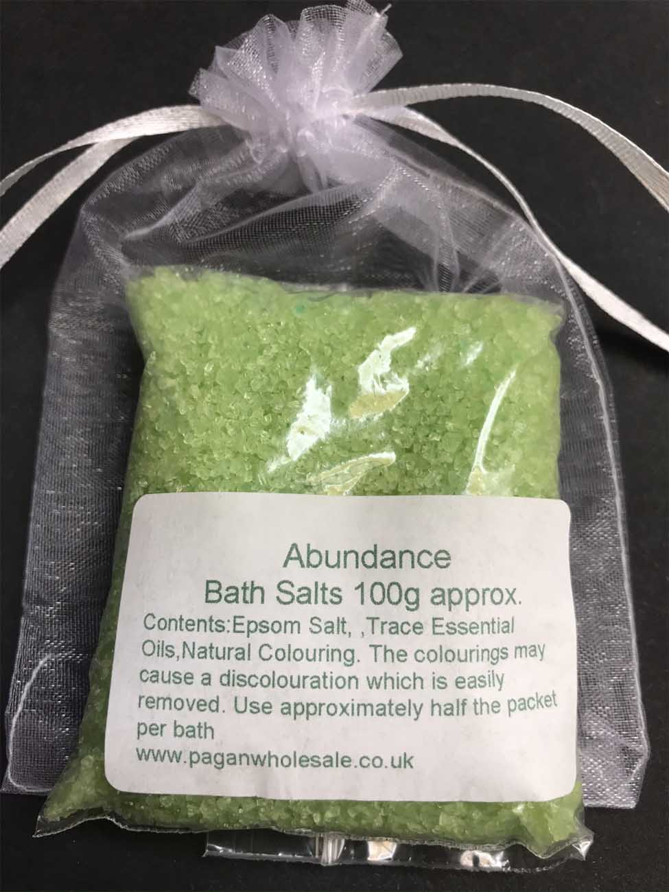 Abundance Witches Scented Bath Salts