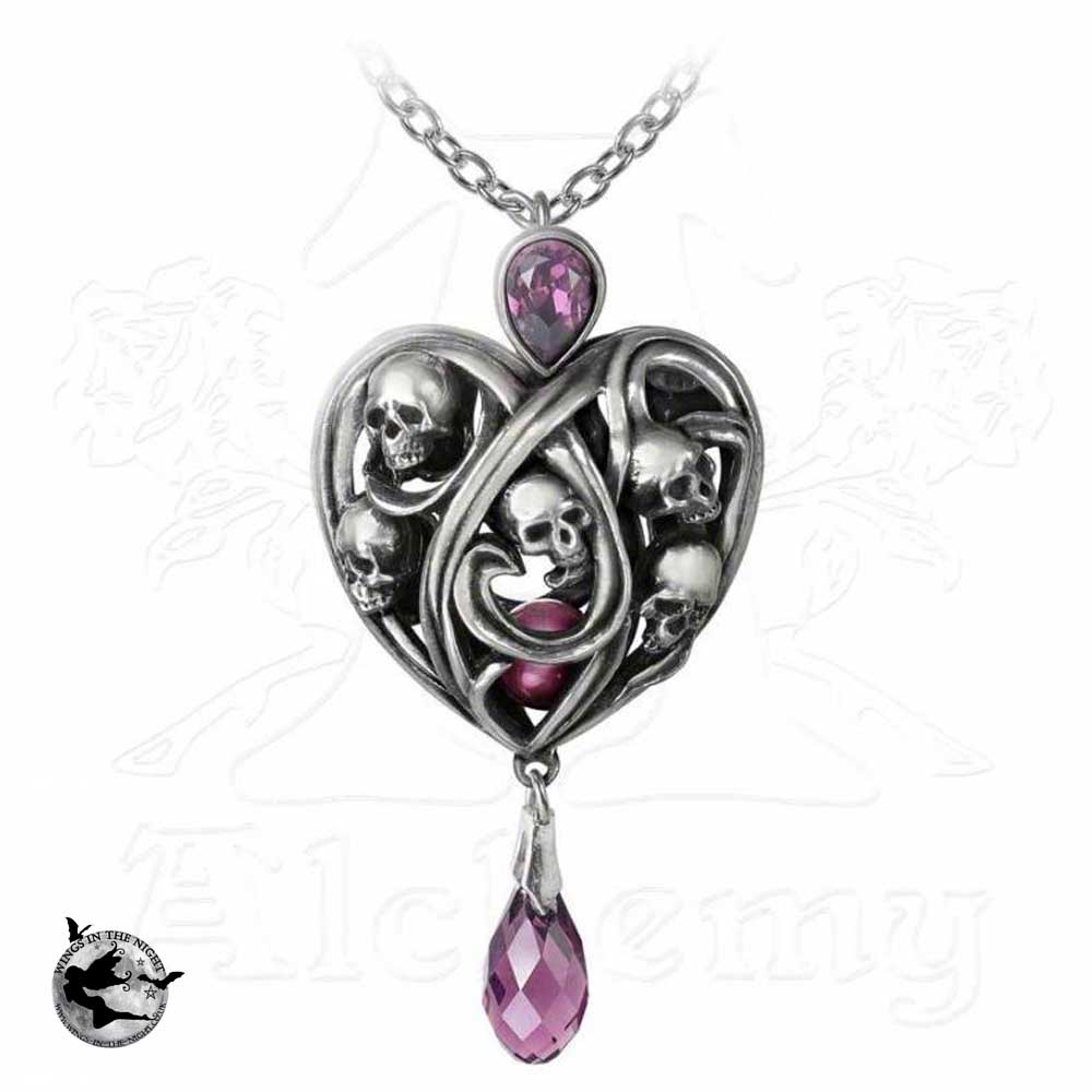 product day gifts sues mothers purple elegant heart jewelry austria index infinity love secret from noble with necklace gradient swarovski pendant crystals