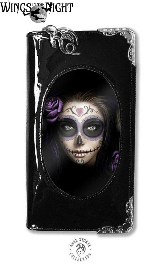 ANNE STOKES Gothic Day of the Dead 3D Purse