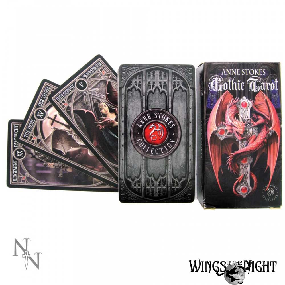 ANNE STOKES Gothic Tarot Card Deck | Pagan & Wicca Supplies