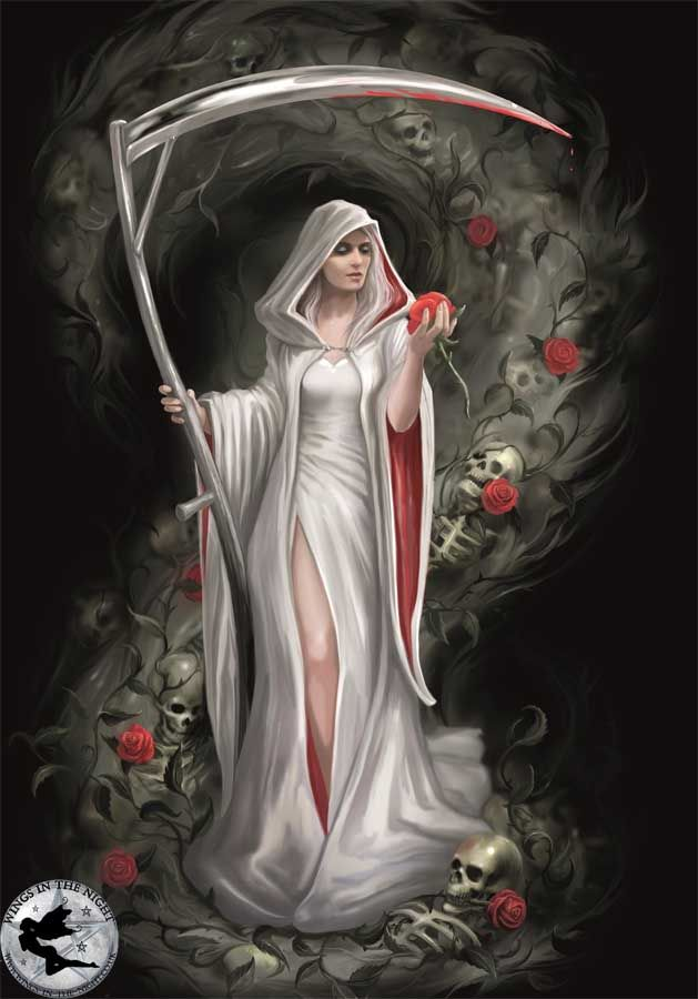 Anne stokes life blood gothic greeting card m4hsunfo
