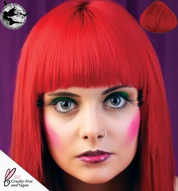 DIRECTIONS Semi Permanent Hair Dye - Poppy Red