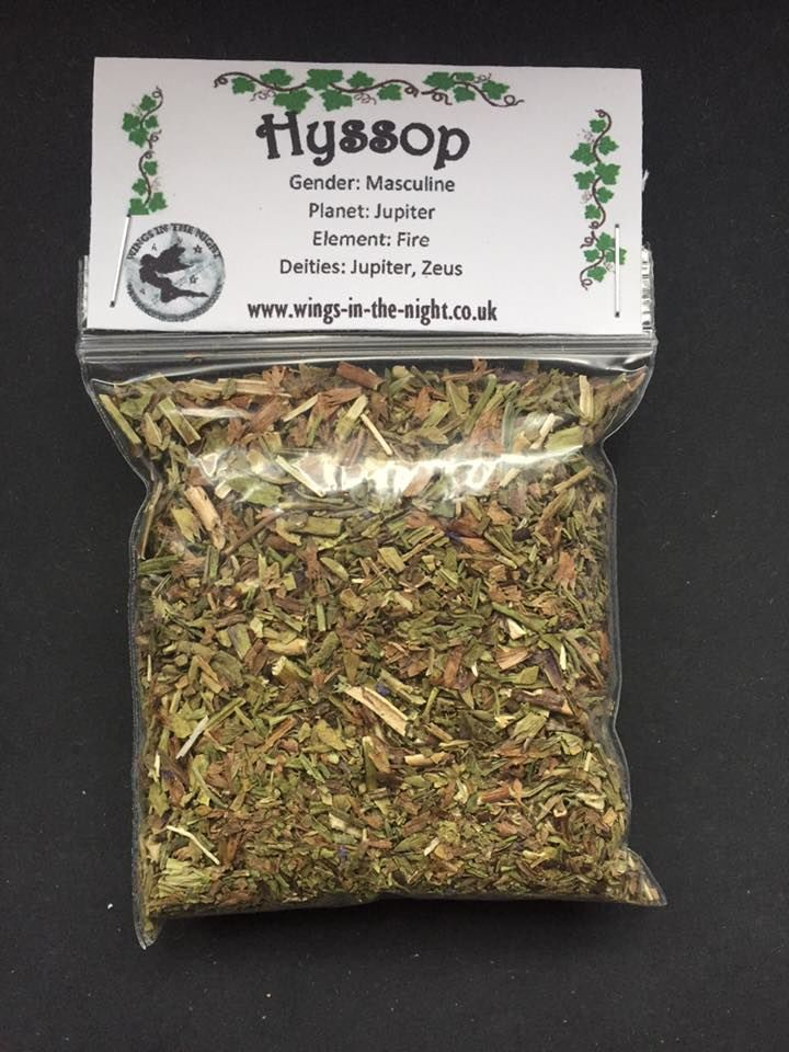 HYSSOP Dried Spellcraft Herb