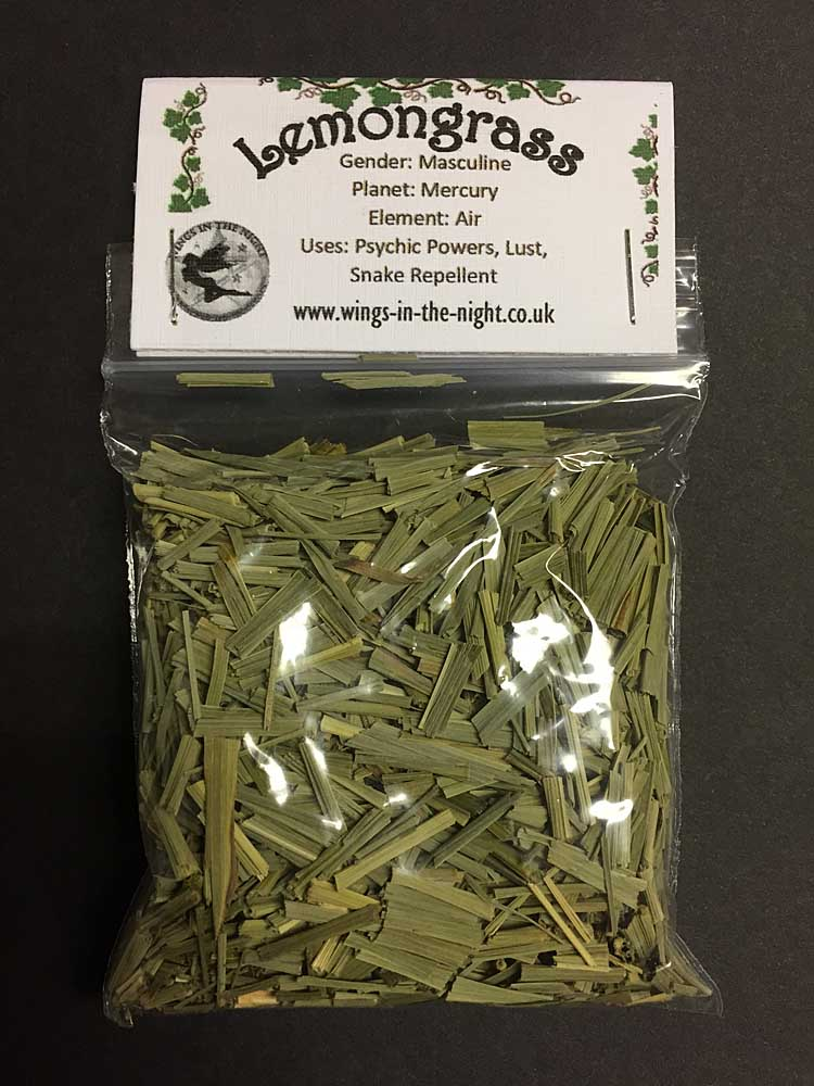 LEMONGRASS Dried Herb | Spell Craft Magical Herb