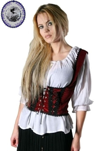 Medieval Gypsy Blouse By Bares Ladies Gothic Clothing