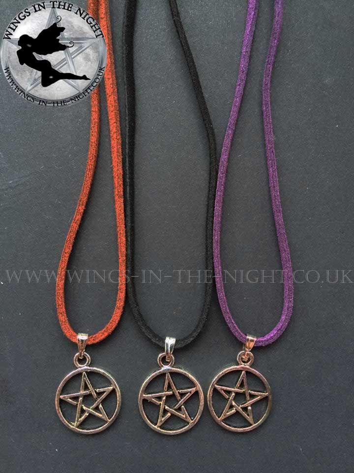 Pagan PENTACLE Necklace - Handmade