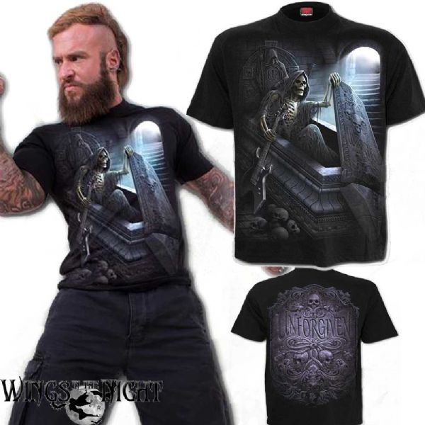 Spiral Lord Have Mercy Men/'s Black T-Shirt Special Order Gothic,Goth,Skull S