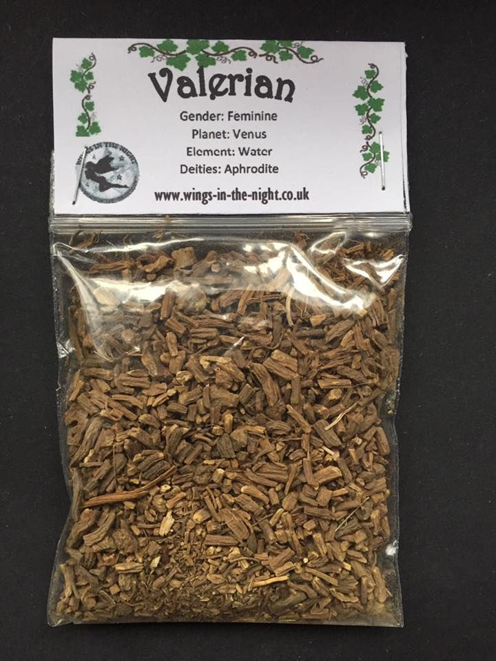 VALERIAN ROOT Dried Spellcraft Herb