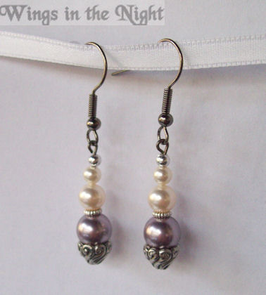 Vintage Swarovski Pearl Earrings