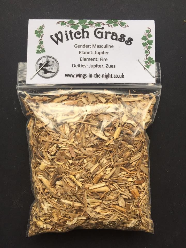 Witches Grass Dried Magical Herb