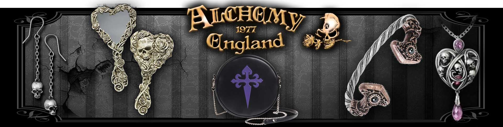 Alchemy Gothic Jewellery, Accessories and Home Ware Available at Wings in the Night