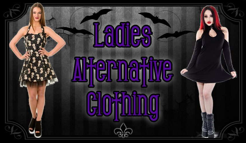 Ladies Gothic Clothing, Alternative Fashion for Women