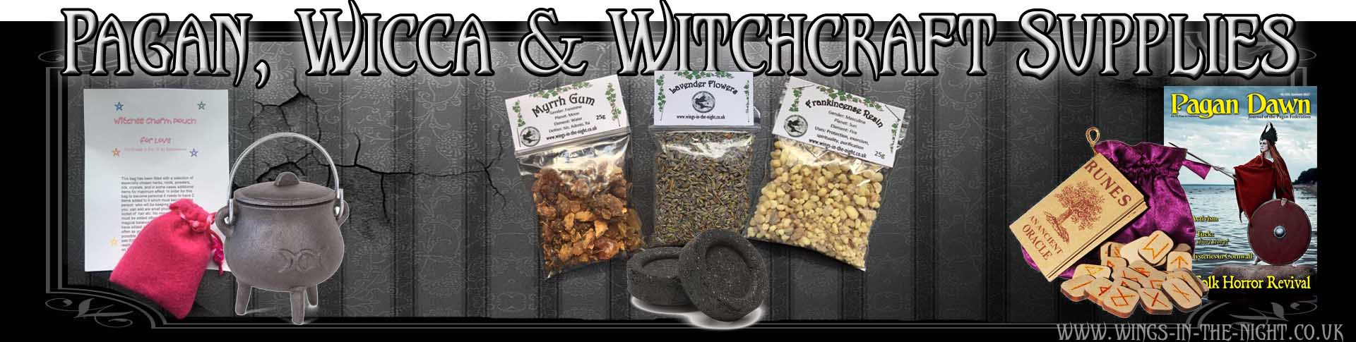 Pagan, Wicca, Witchcraft Shop | Newquay, Cornwall | Resins, Magical Herbs, Spell Kits, Altar Tools, Incense, Wands, Ritual Supplies