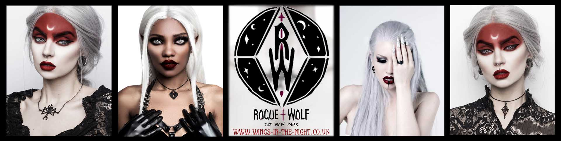 The Rogue & The Wolf Gothic Jewellery from Wings in the Night